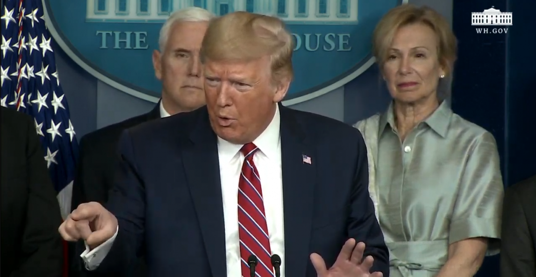 President Trump lashes out at reporters during coronavirus update (VIDEO)