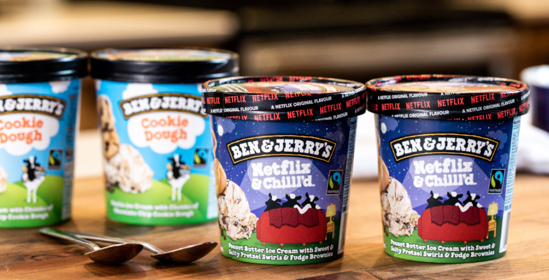 Ben & Jerry's releases the perfect ice cream pairing for your fave TV shows