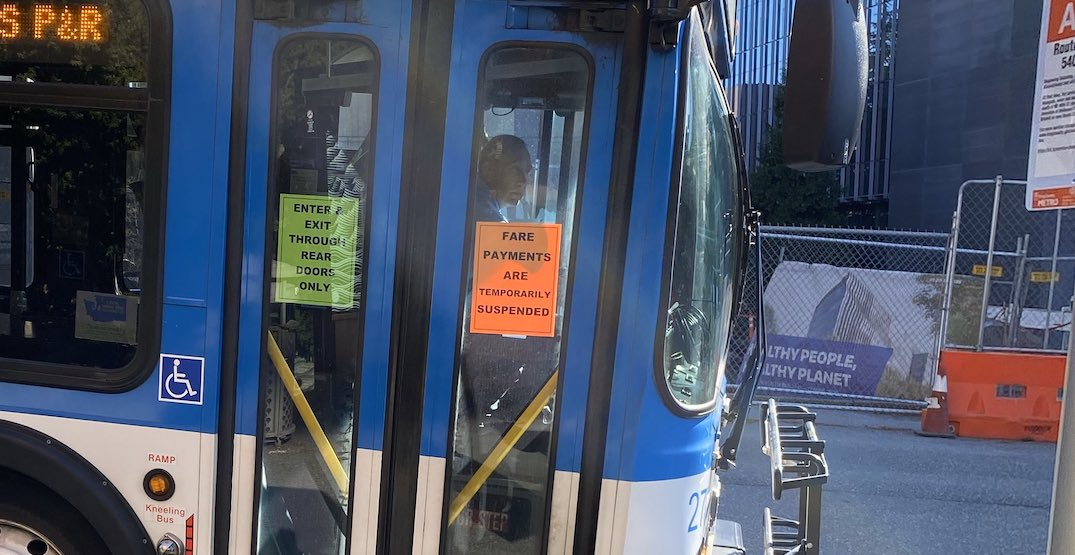 What transit looks like while Seattle is physical distancing (PHOTOS)