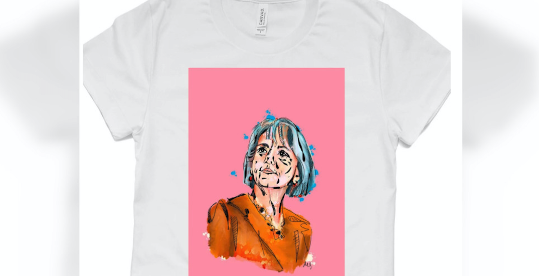 You can buy a Dr. Bonnie Henry T-shirt from a Calgary-based designer