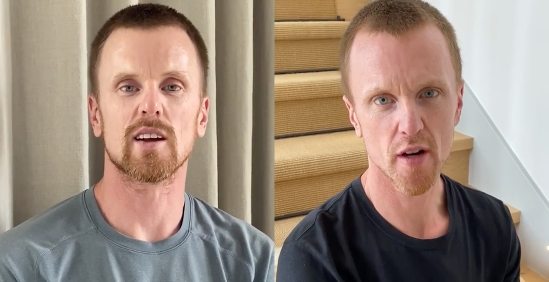 Sedins share heartwarming message for our healthcare workers (VIDEO)