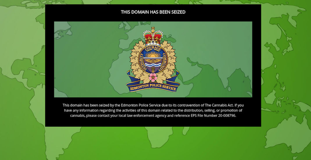Police seize over 100 web addresses illegally selling cannabis online