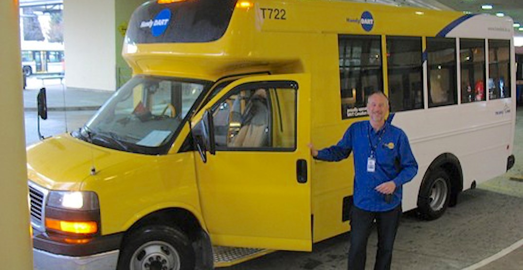 TransLink implements free fares on HandyDART until further notice