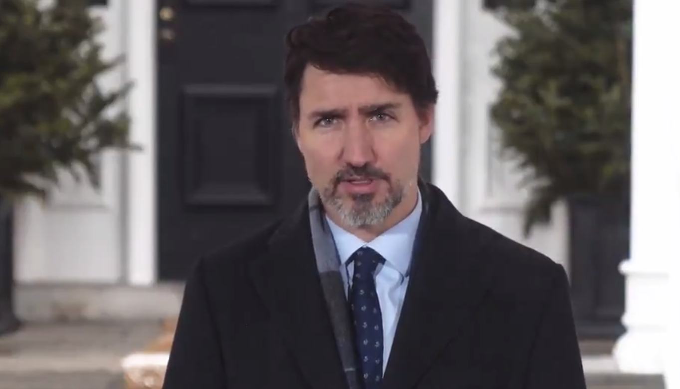 """Help is on the way"": Trudeau's emergency benefit now giving $2000 a month for 4 months"
