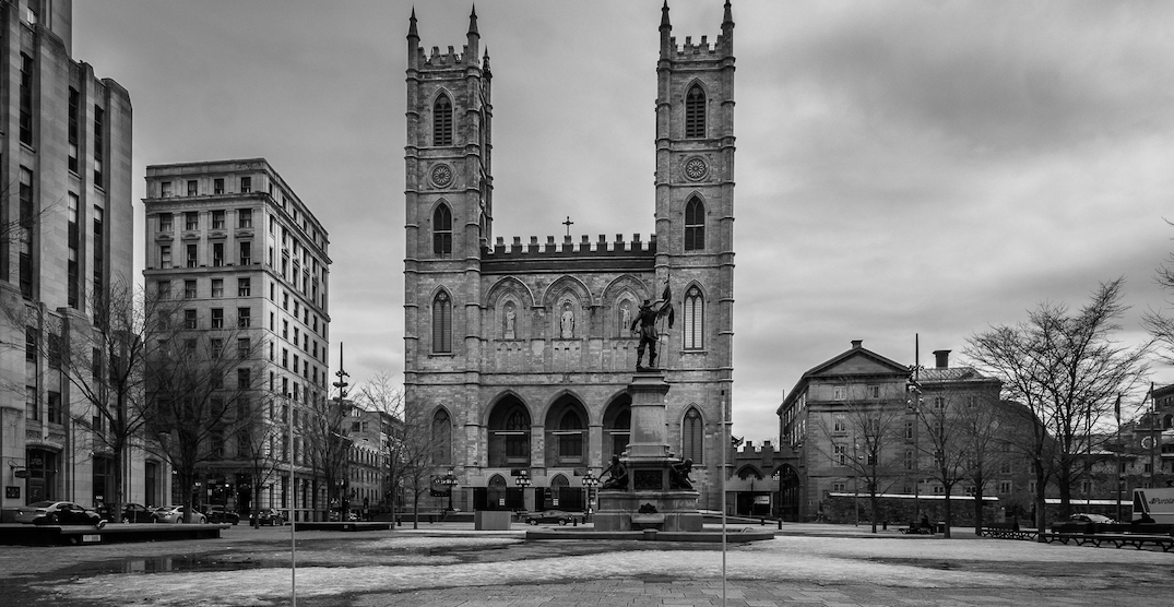 Photographer shares pictures of eerily deserted Montreal streets (PHOTOS)