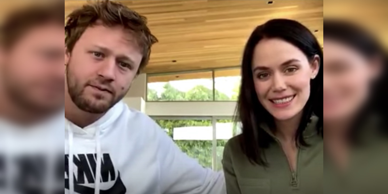 Tessa Virtue is paired up with Leafs defenceman Morgan Rielly (VIDEO)