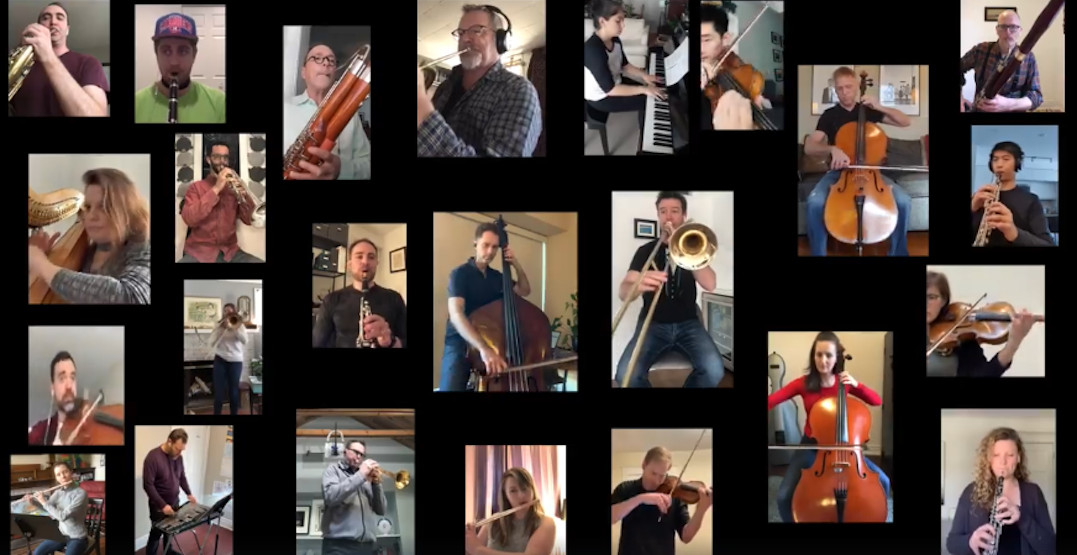 Toronto Symphony Orchestra musicians share digital performances