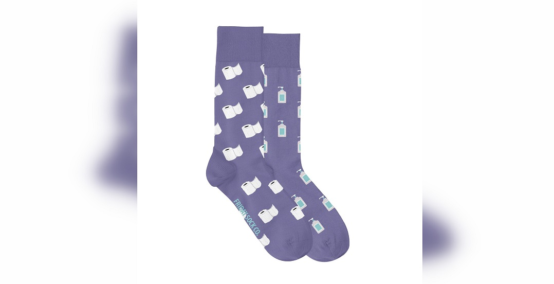 Alberta custom sock company creates timely new design to help food banks