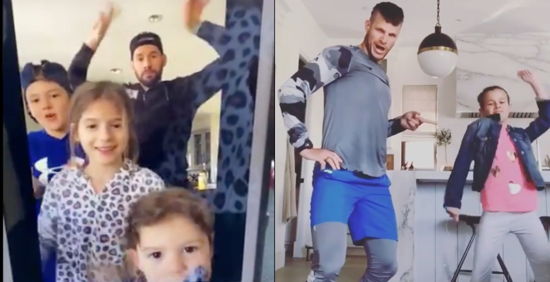 Kesler and Bieksa dancing with their kids will brighten your day (VIDEOS)