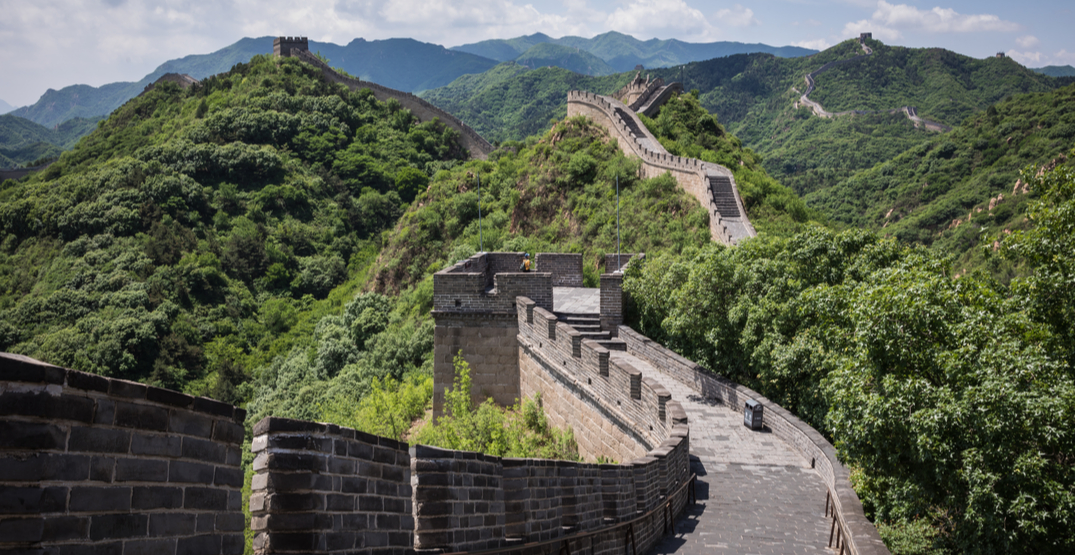 A section of the Great Wall of China has reopened to visitors