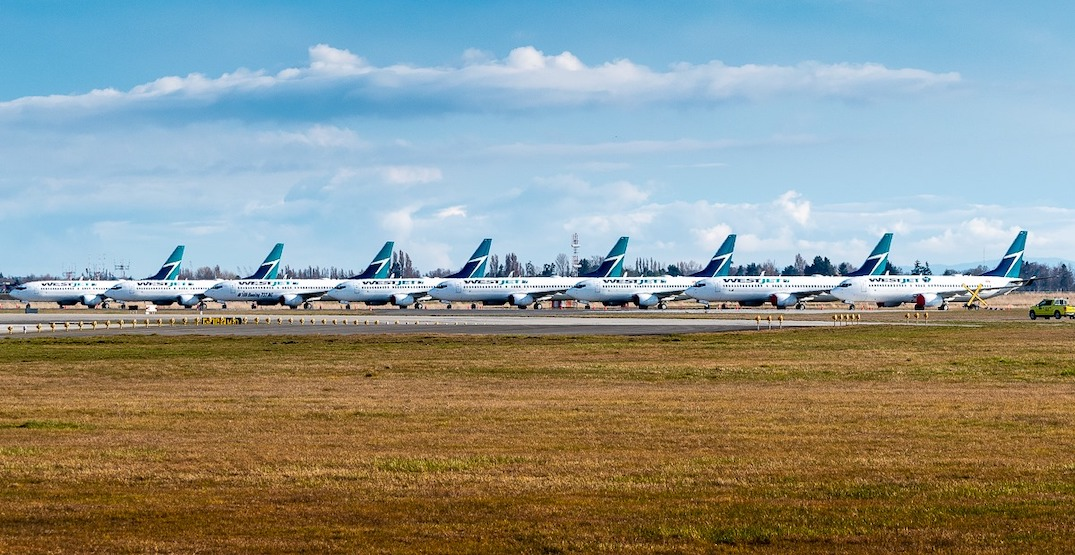 Just 3,000 passengers per day are now going through Vancouver International Airport