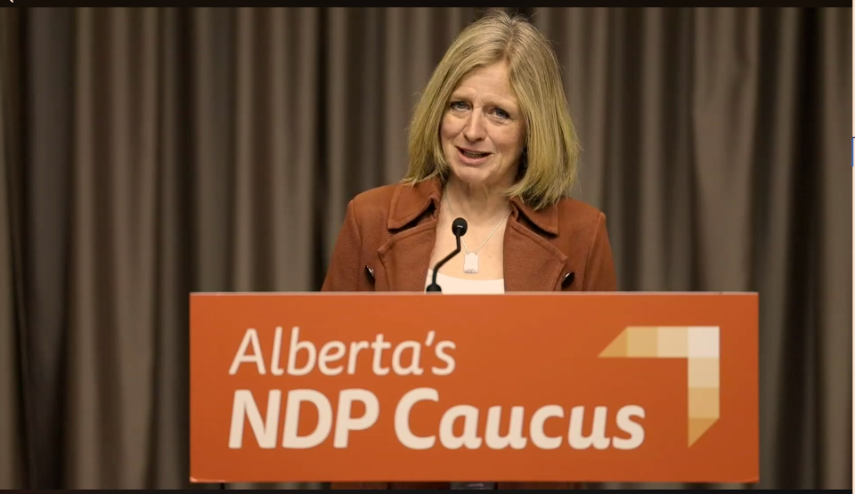 Notley calls for resignation or removal of Health Minister Tyler Shandro