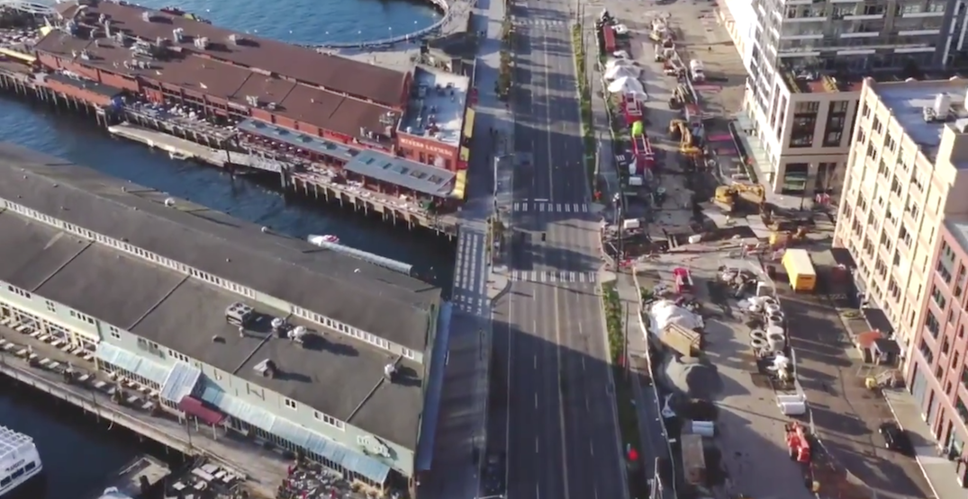 Drone footage shows Seattle streets eerily deserted (VIDEO)
