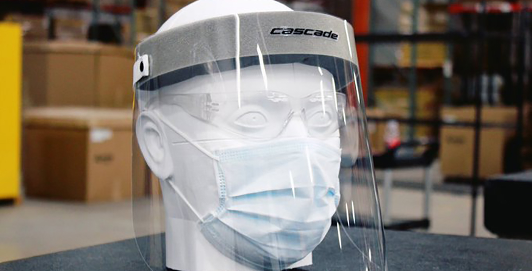 Bauer Hockey shares face shield design for healthcare workers
