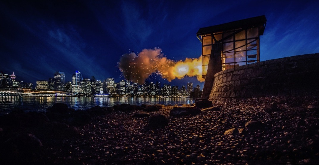Stanley Park's Nine O'Clock Gun to fire at 7 pm to honour healthcare workers