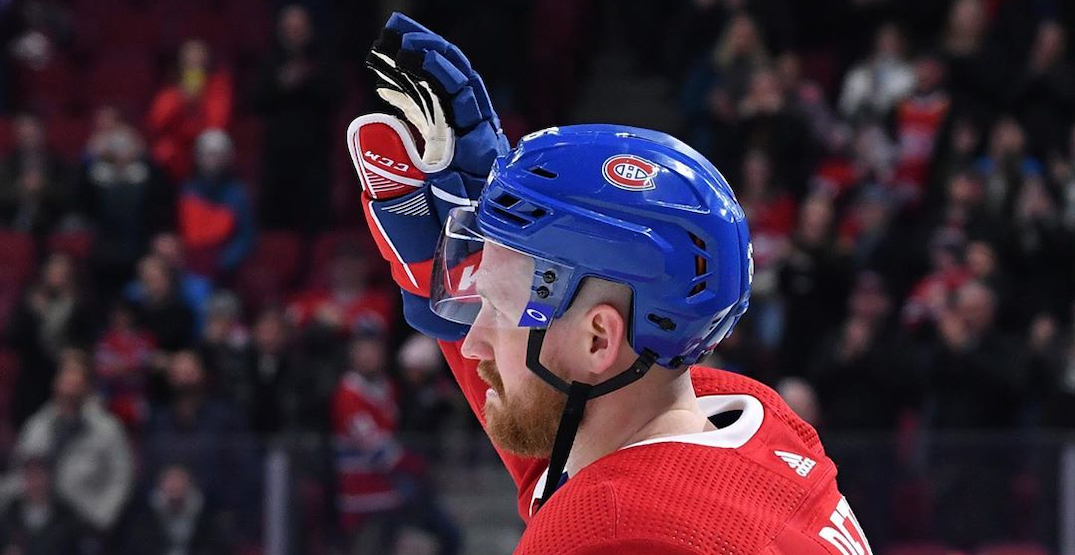 Canadiens defenceman opened two Montreal restaurant tabs for hospital workers