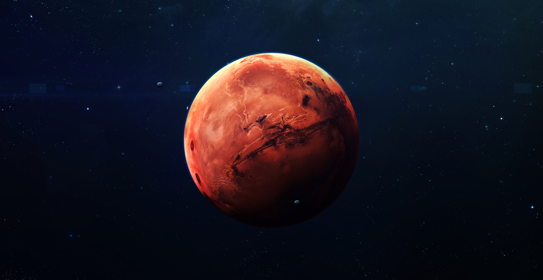 Mars will shine brighter than it has since 2003 this week