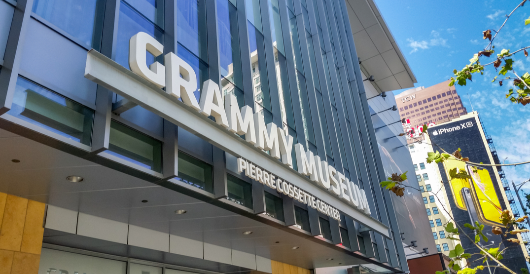 The Grammy Museum is offering online music and video production classes