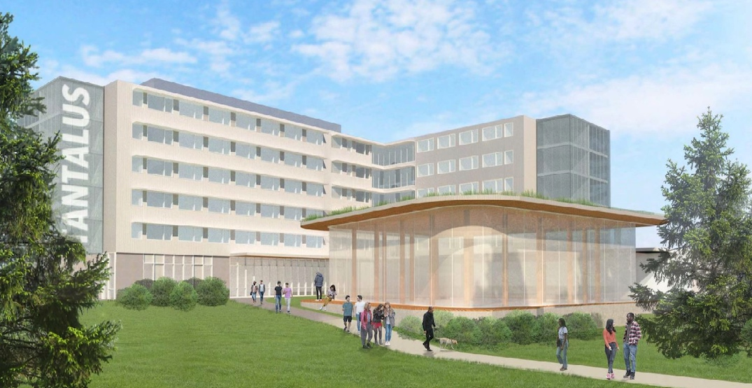Capilano University proposing to build 302 beds of student housing on campus