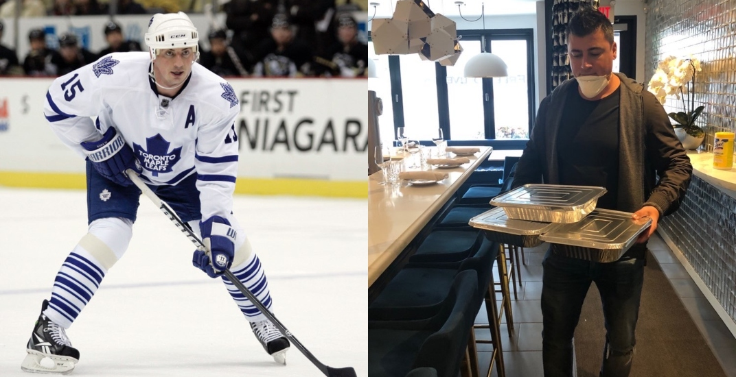 Former Leafs defenceman Kaberle now delivering food for wife's restaurant
