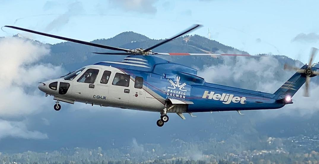 Helijet providing free rides for BC healthcare workers travelling on business
