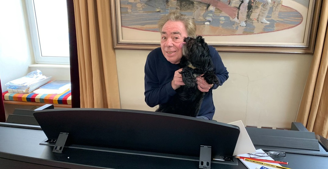 Andrew Lloyd Webber is performing songs from popular musicals every day (VIDEOS)