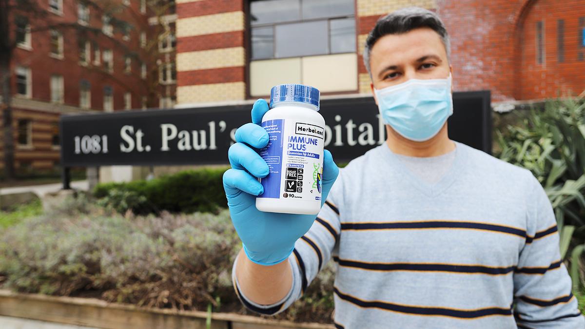 herbaland gummies saint pauls hospital donation