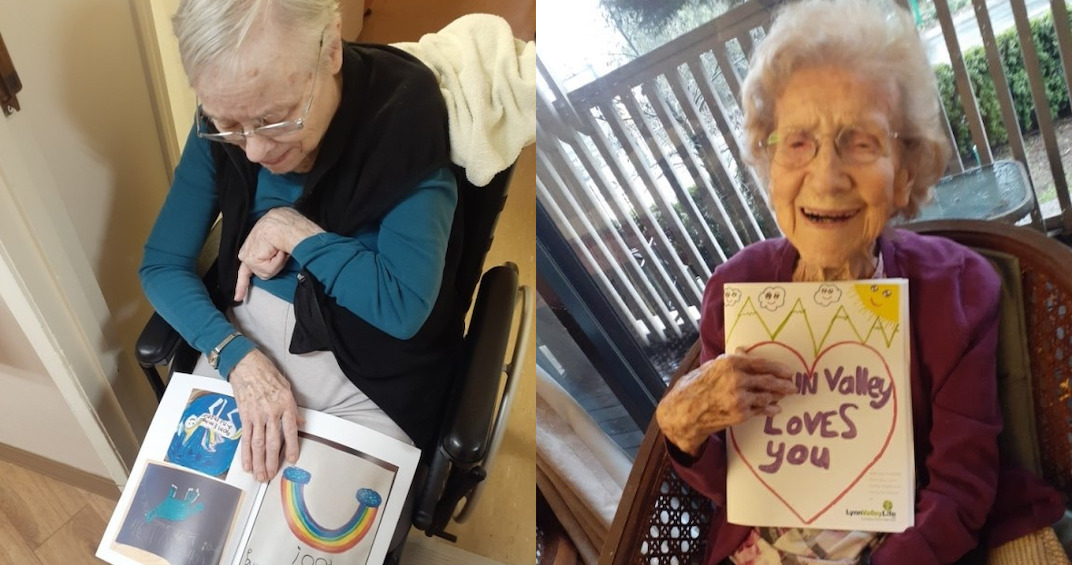 Canadian care home with coronavirus outbreak receives letters of love