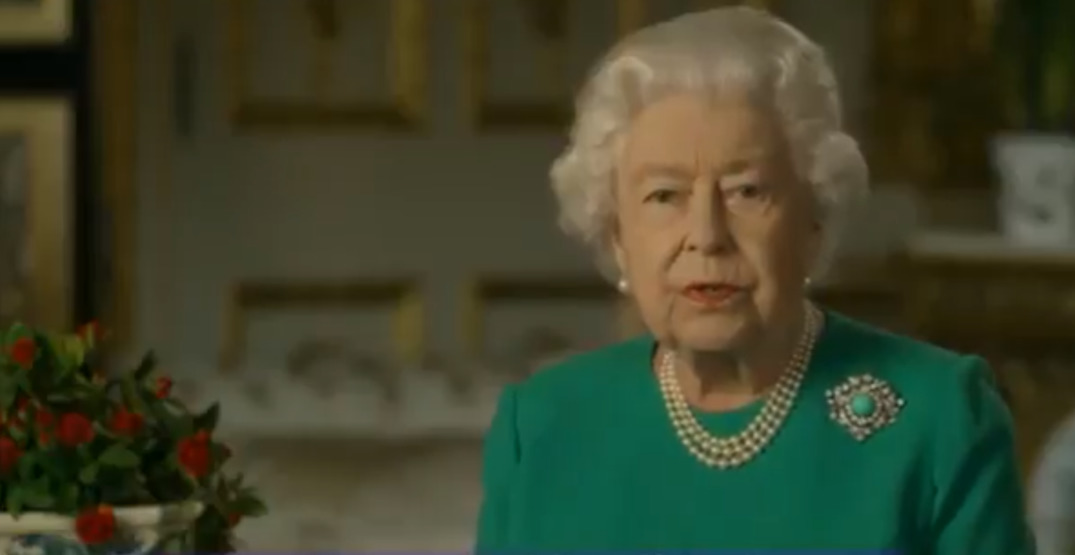 Queen Elizabeth II calls for resolve during pandemic in rare public address (VIDEO)