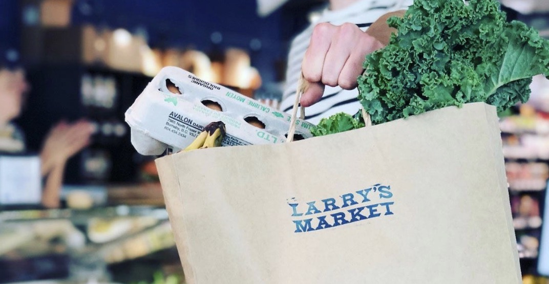 Larry's Market offers same-day grocery delivery in and around Vancouver