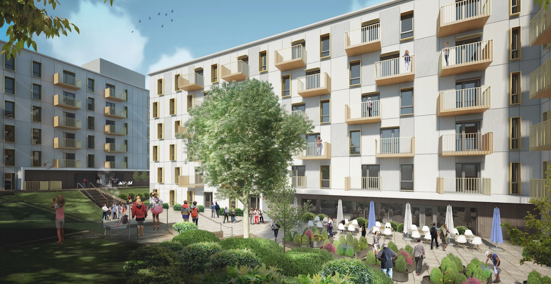 146 units of social housing proposed for corner of Renfrew and Venables streets