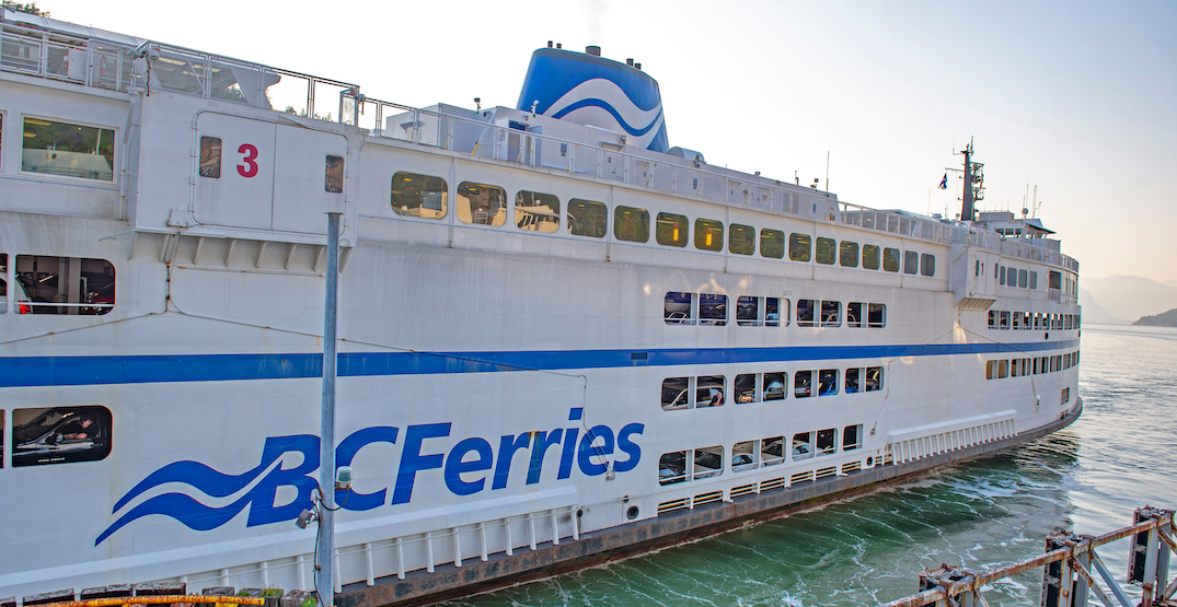 Province announces BC Ferries eligible for federal funding