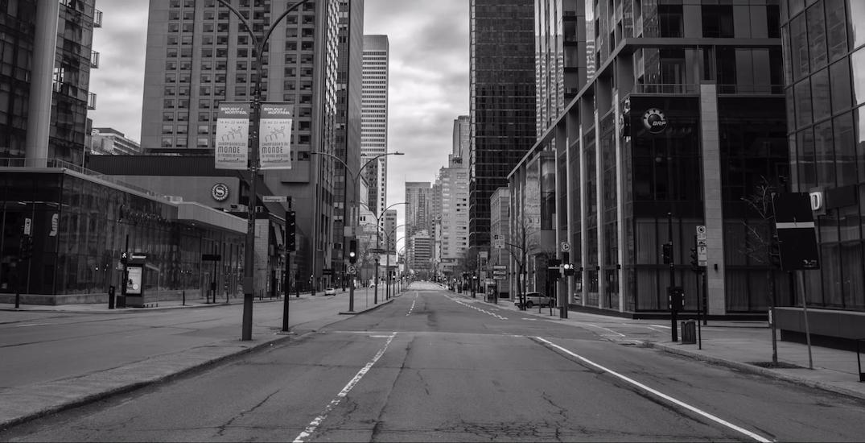 Filmmaker shares inspiring video of an eerily empty Montreal