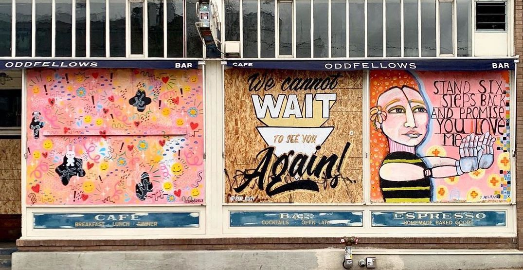 Murals have been popping up on Seattle storefronts (PHOTOS)