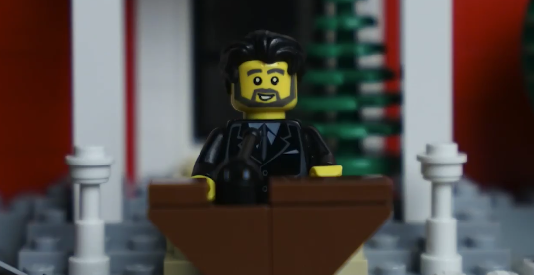 Adorable LEGO video highlights Justin Trudeau's message to kids (VIDEO)