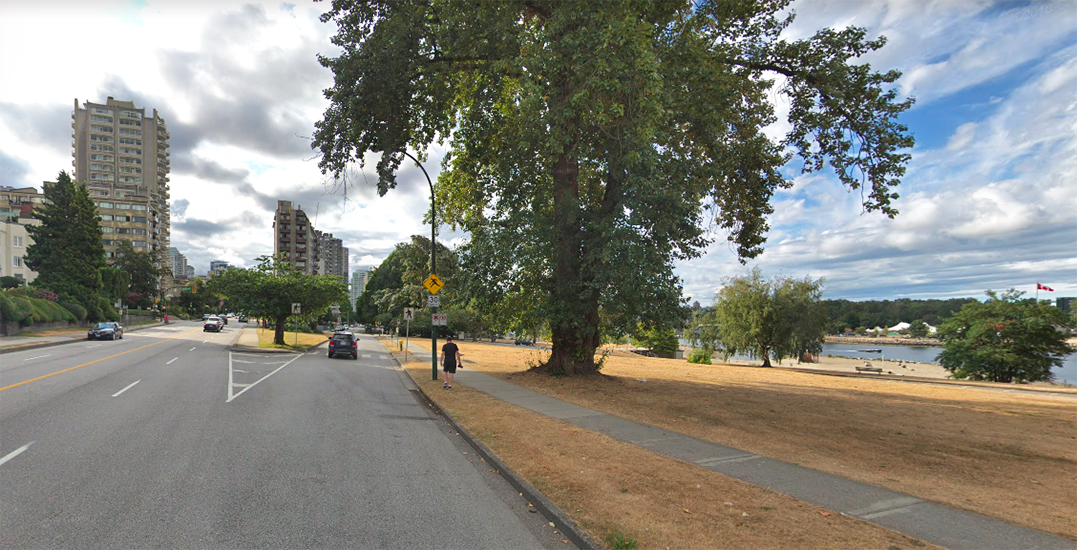 Vancouver partially closes Beach Avenue to cars