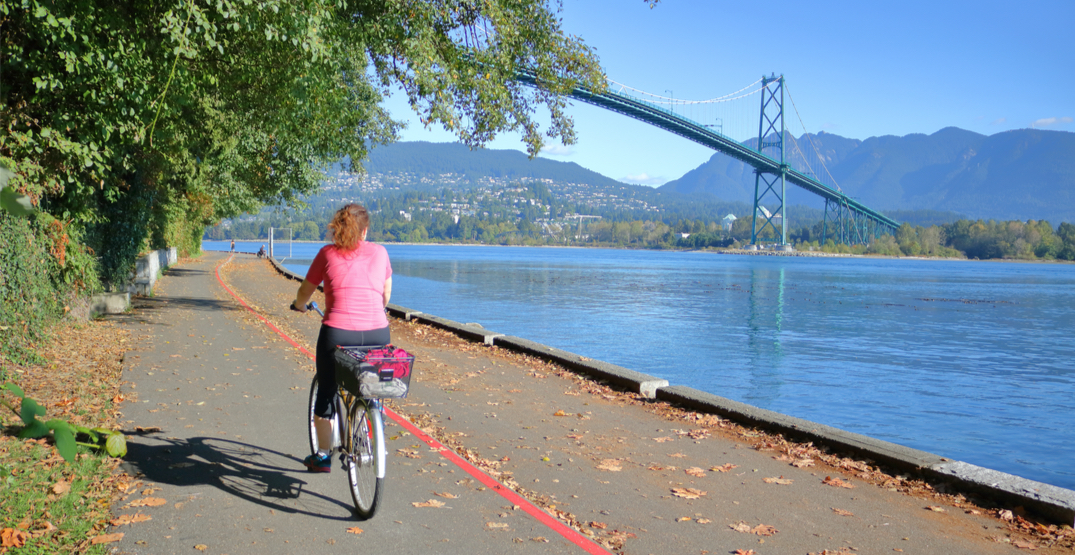Stanley Park Seawall closed to bikes