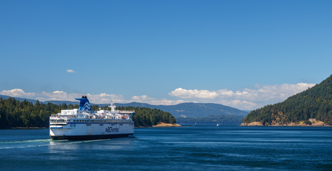 People still travelling on BC Ferries over long weekend despite warnings not to
