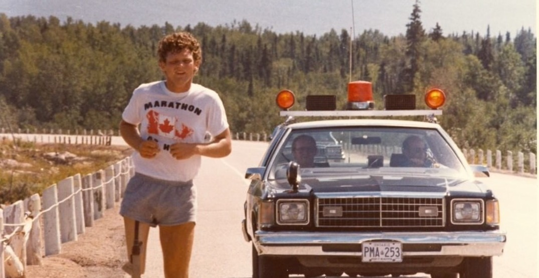 Today marks the 40th anniversary of Terry Fox's Marathon of Hope (VIDEO)