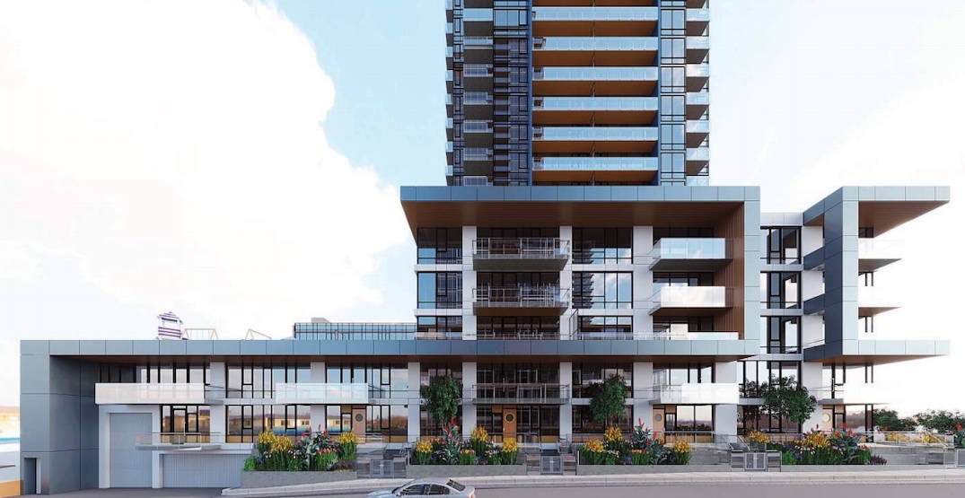 1125 homes within 3 towers proposed for Surrey City Centre (RENDERINGS)