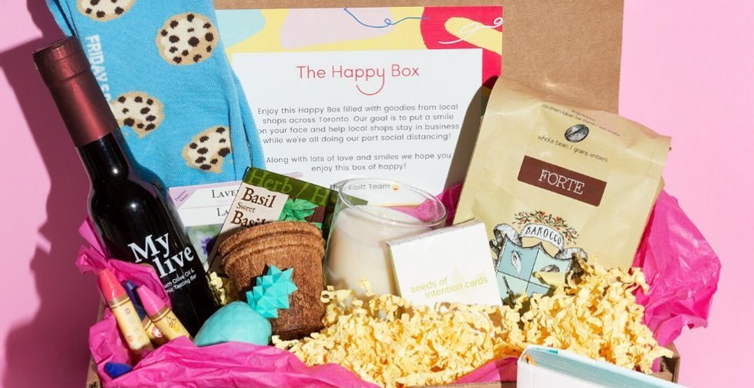 New gift-box delivery service supports small Toronto businesses