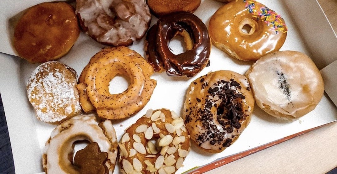 Hoopla Donuts just launched a new delivery service