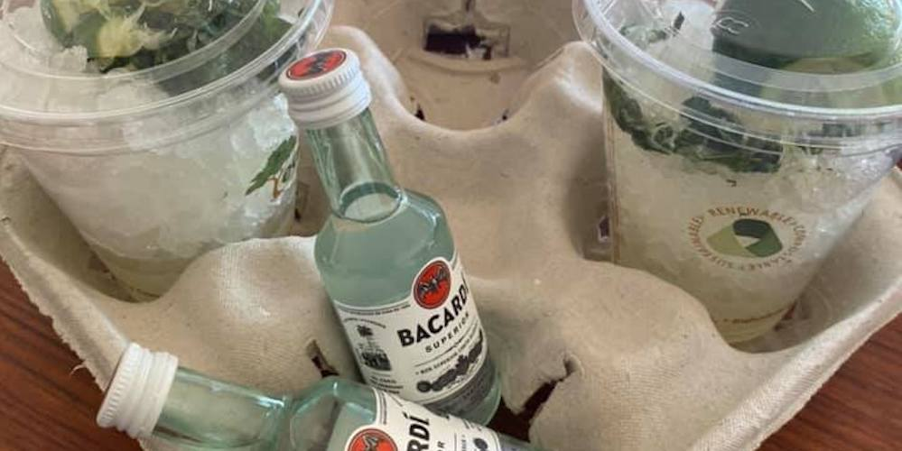Grab delicious boozy drinks to-go at Seattle's Mojito