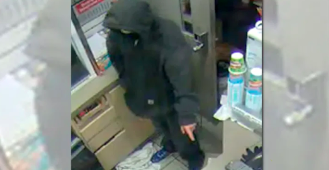 Police seeking suspect in connection with 8 robberies in North Vancouver