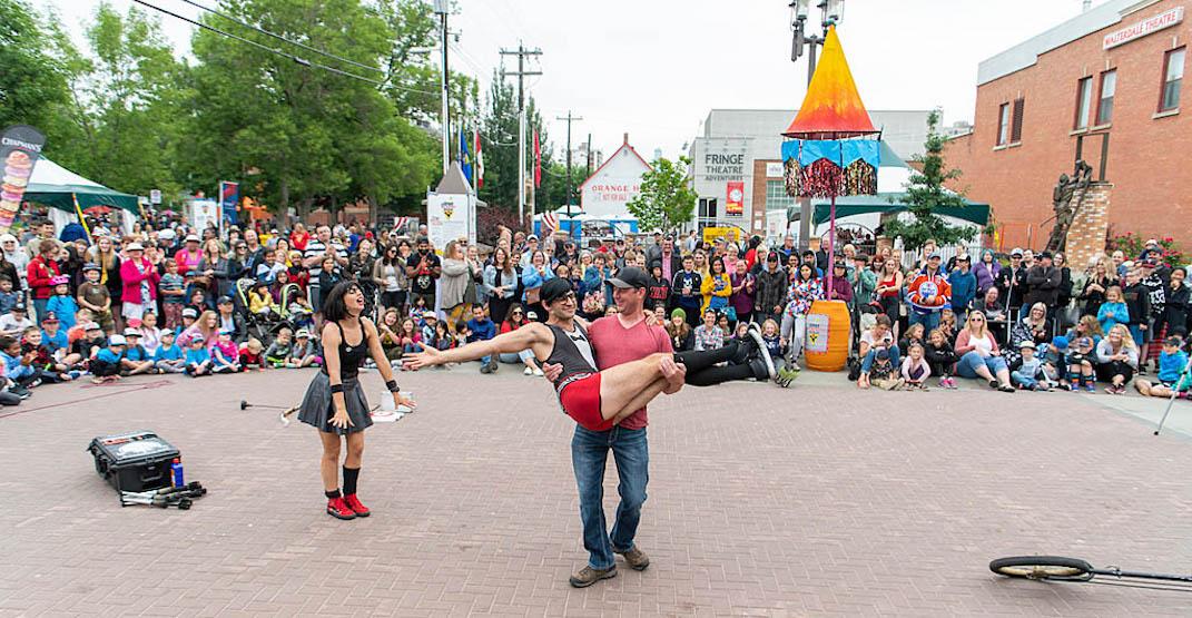 Edmonton street performers festival to move online