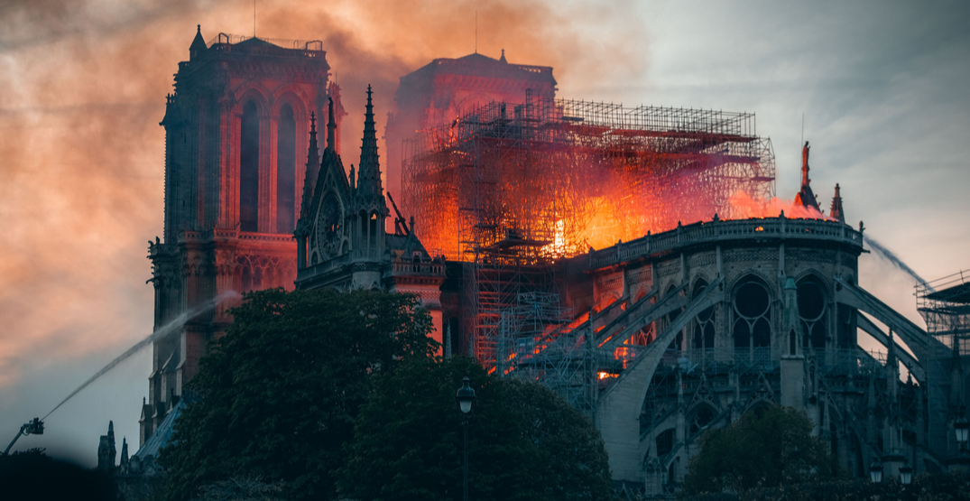 Today marks the one-year anniversary of the Notre-Dame Cathedral fire (PHOTOS)