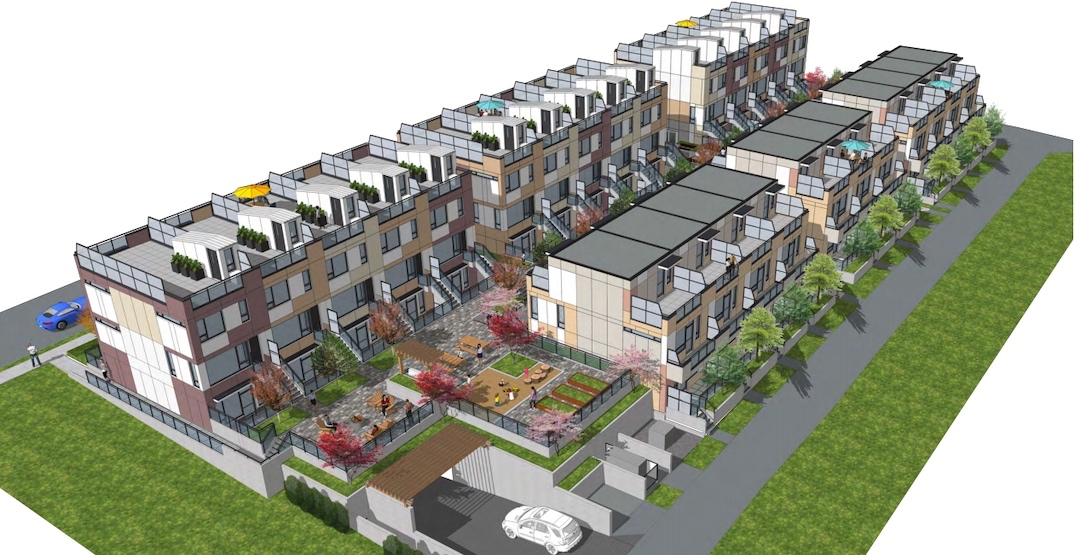 50 townhouses proposed for Vancouver's Cambie Corridor