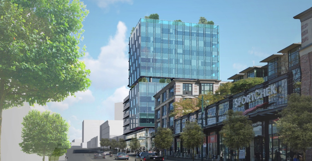 New office tower proposed near SkyTrain's future Mount Pleasant Station