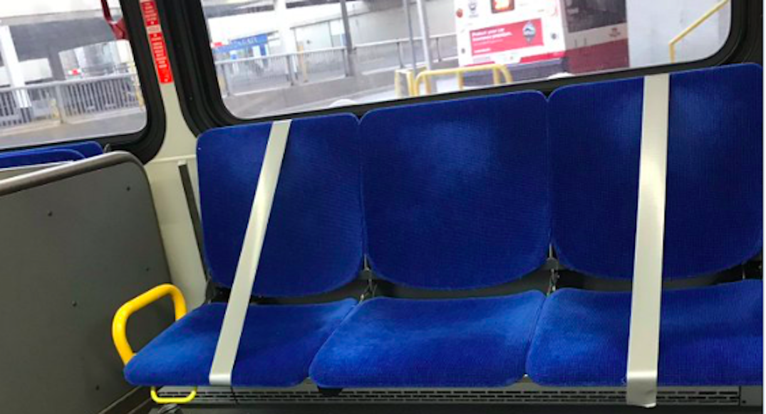 TTC to section off seating to improve physical distancing measures