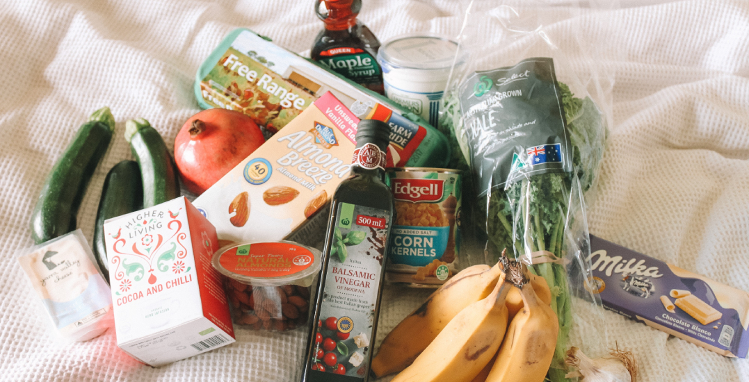 How to create a grocery list for the next two weeks